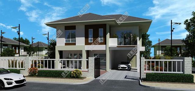 5套农村自建房2层小户型,漂亮实用又舒适!