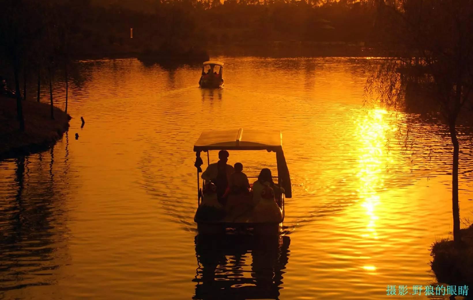 广州去南沙湿地公园_原来在广州这里看日落,会美得一塌糊涂!