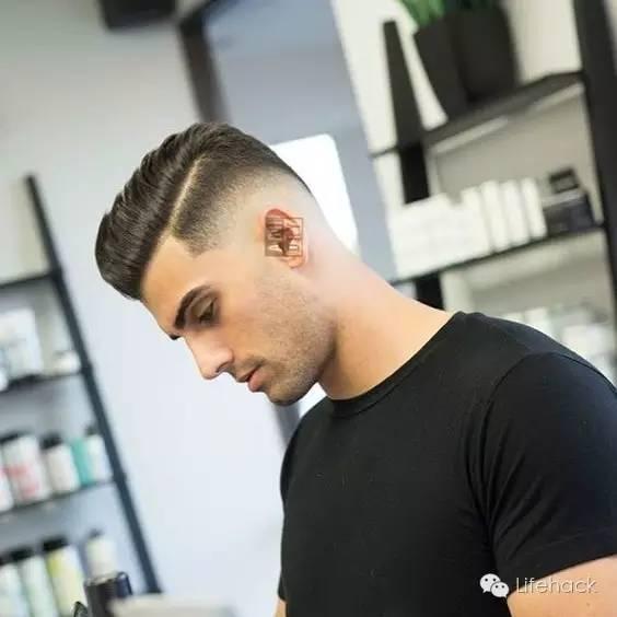 拉莫斯一道杠发型_头发两边剃一道杠图案-头发后面剃图案_头发侧边剃掉一道杠 ...