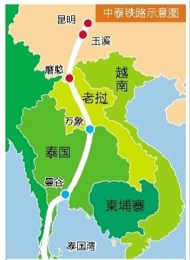 中泰铁路合作项目始于英拉政府时期,项目启动距今多年,期间更是一波三