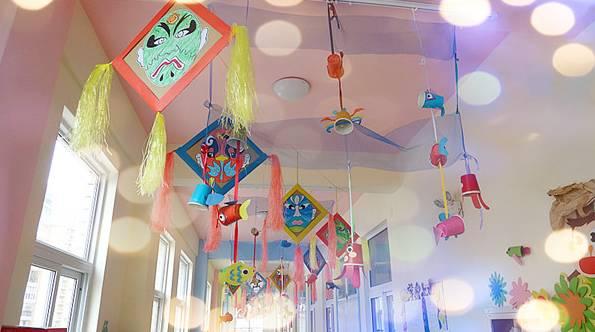 """幼儿园环创吊饰_【园长篇】民族的才是世界的!幼儿园""""中国风""""环创手工制作!"""