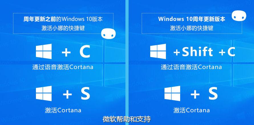 """Windows 快捷键_Windows 10 如何用""""你好,小娜""""激活Cortana"""