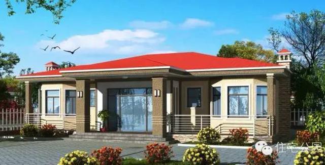 6套一层农村自建房设计