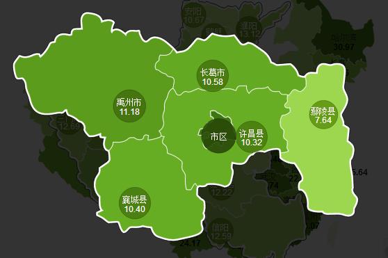 河南许昌地图全图