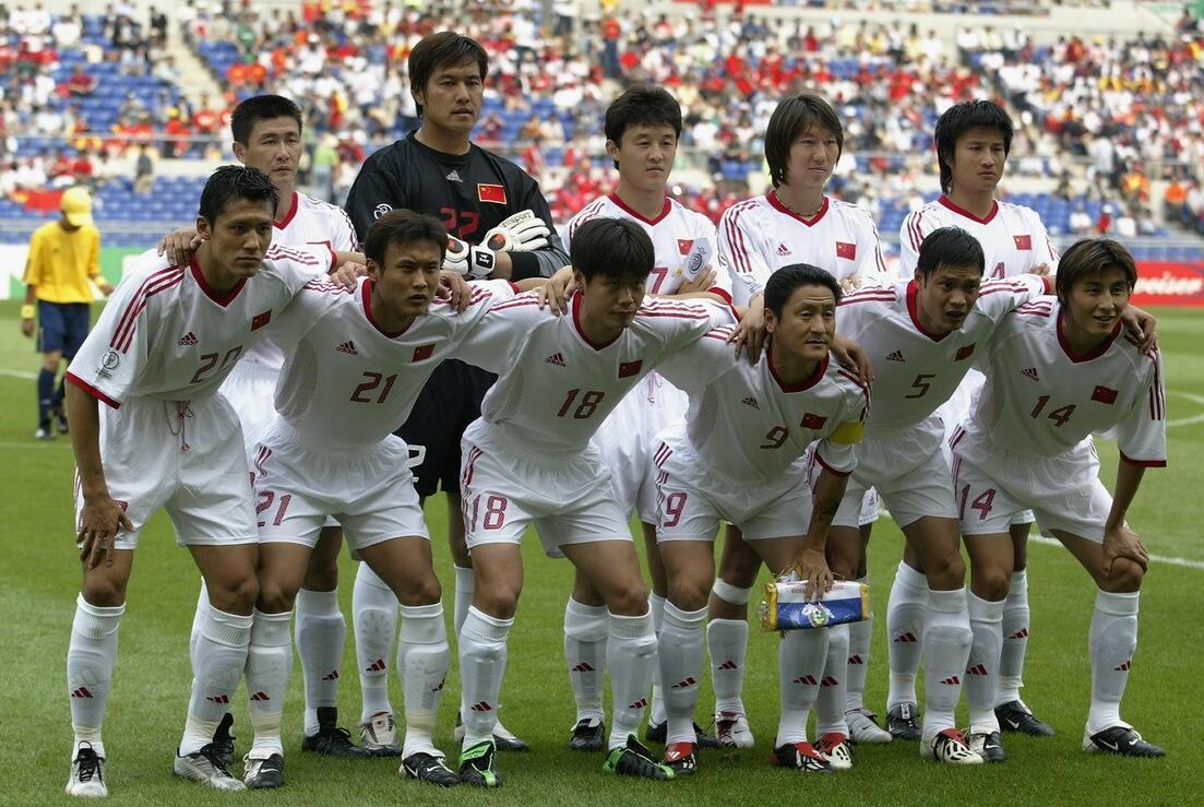 2002年世界杯中国足球队名单