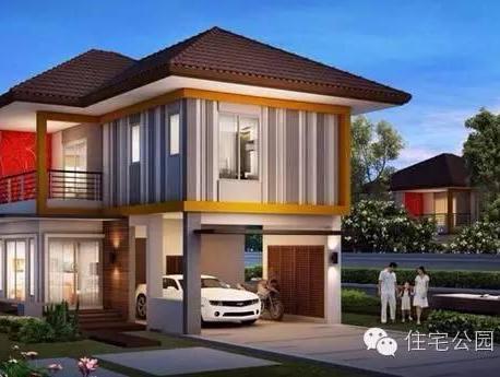 5套泰国现代风格户型,新农村自建房这样盖咋样?