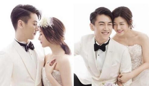 陳曉陳妍希結婚照那么甜 姑姑靠發型收獲過兒心圖片