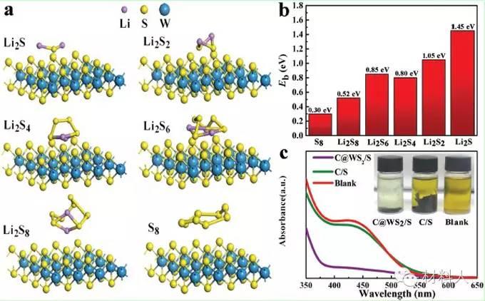 露逼做爱囹�a_energy mater.:多功能层状ws2纳米片提高锂硫电池的性能