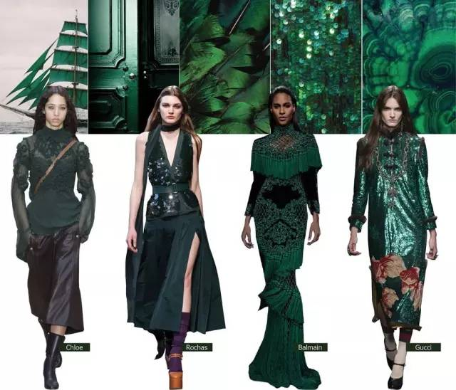 最难穿的绿色竟成为2016秋冬流行色?原来穿对了可以这么美!