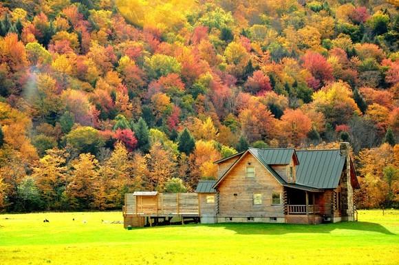 美国家庭农场囹�a_这个自带滤镜的秋天我给99分!