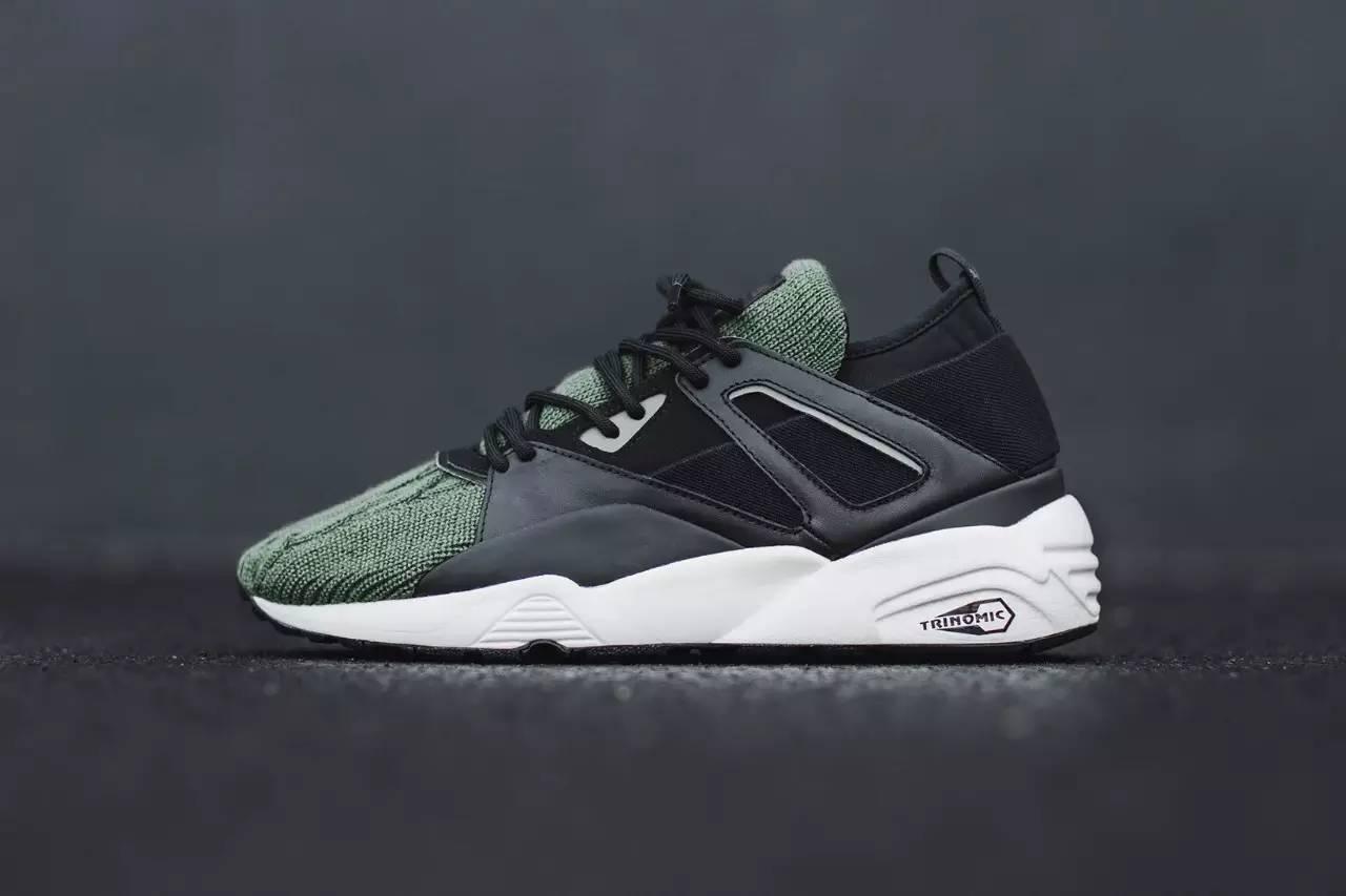 super popular 3691a ee9bf 这个Blaze of Glory Sock Aran 系列共有绿、黑两种配色推出,目前已可经由PUMA 全球各大指定店铺购得。