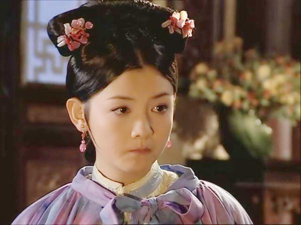 少年天子董鄂妃_《少年天子》六大美女 霍思燕第三 最美是她!