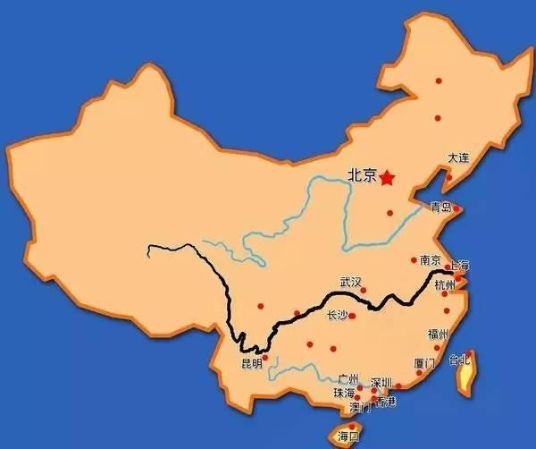 怎样快速画中国地图