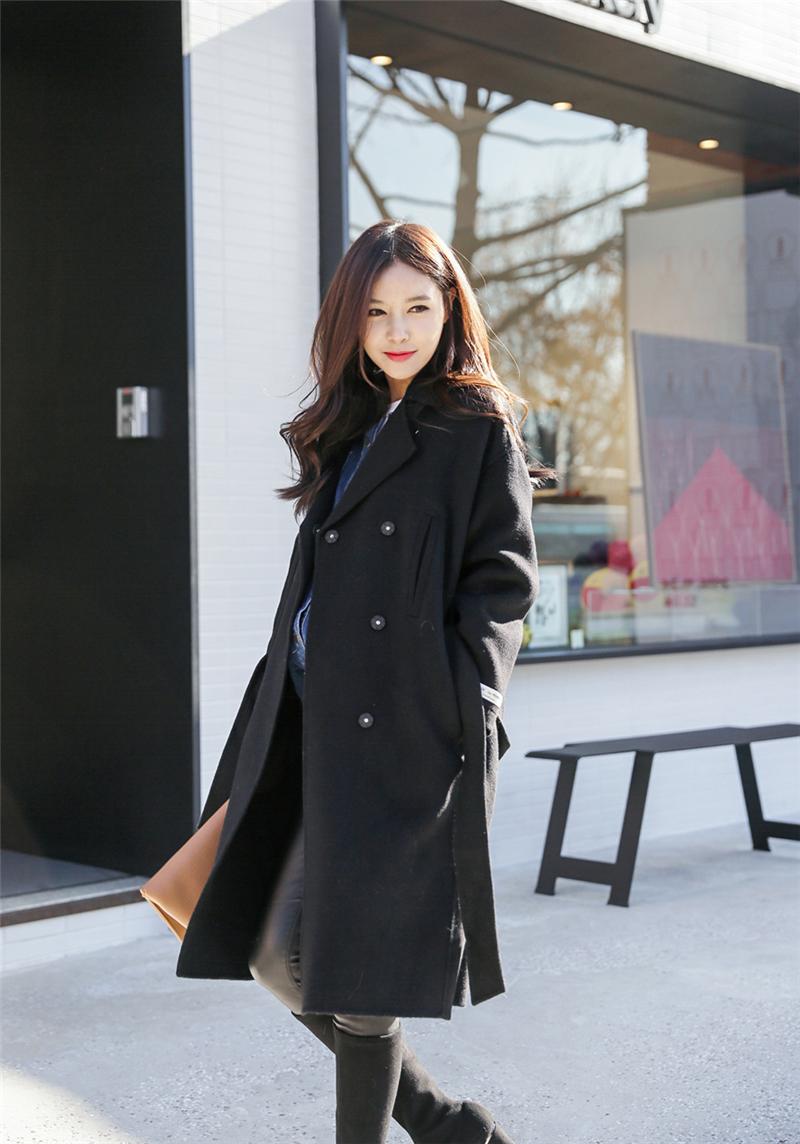 时尚女冬装搭配图片_最新女装冬装时尚搭配-时尚达人演绎韩版女装穿搭