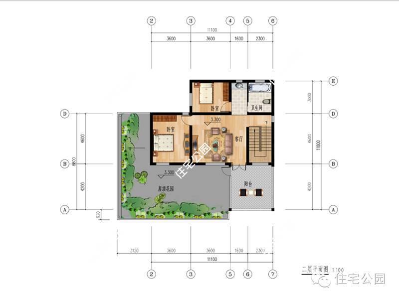 9套平屋顶自建房,布局这么好,30真万能建成吗?