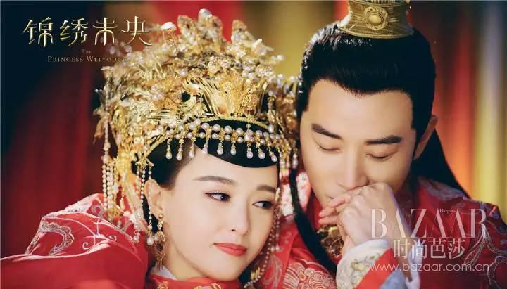 """�情_""""缘来是你""""爱红唇!看到唐嫣罗晋这么甜,这碗狗粮我干啦"""