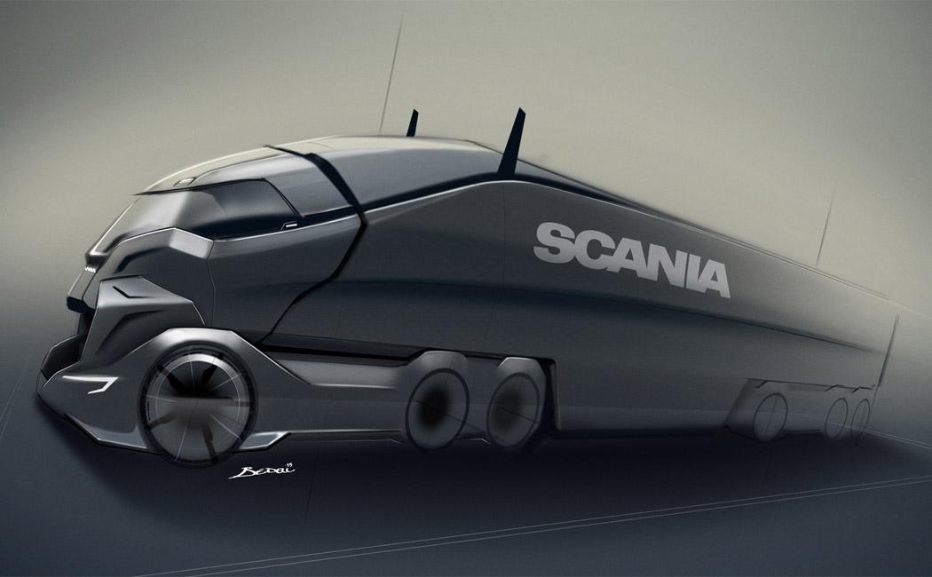 概念卡车设计quantum levitate