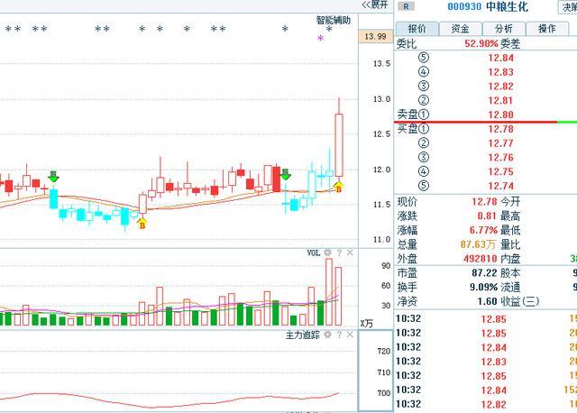 中粮屯河股票分析_养老金是下一个领涨品种,消费类个股上涨空间大!