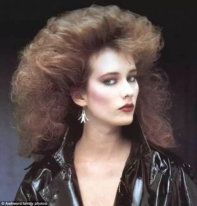 80年代歐美最流行的發型……這比殺馬特還辣眼睛的畫風……那些年究竟圖片