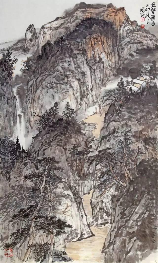 香堂雅集-國展創作精英班導師李國強山水畫展圖片