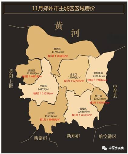 雾霾封城,拨开豫霾看2016年郑州房价地图