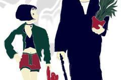 里昂和玛蒂达_杀手不太冷漫画图片-卡通外国人图片,国民老公带回家漫画,微信 ...