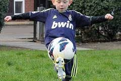 足球訓練------顛球技巧和訓練方法圖片