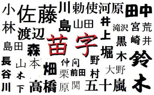 日本姓氏_3.难读的日本姓氏