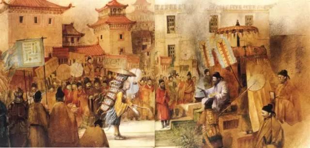 玄奘取经线路图 贞观十七年(643年)启程回国, 贞观十九年正月(645年)