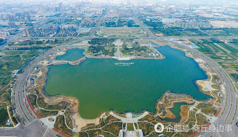 商丘日月湖中心區建設兩種設計方案公布