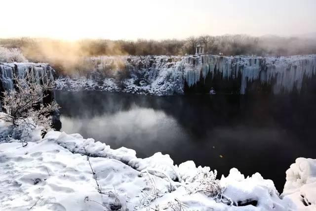 这个冬季,一路往北,探寻镜泊湖的秘密。