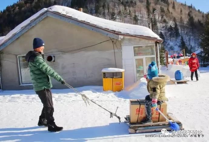 """爸爸去哪儿之雪乡下_是否可以带孩子去雪乡?真实的""""爸爸去哪儿""""版告诉你-搜狐旅游"""
