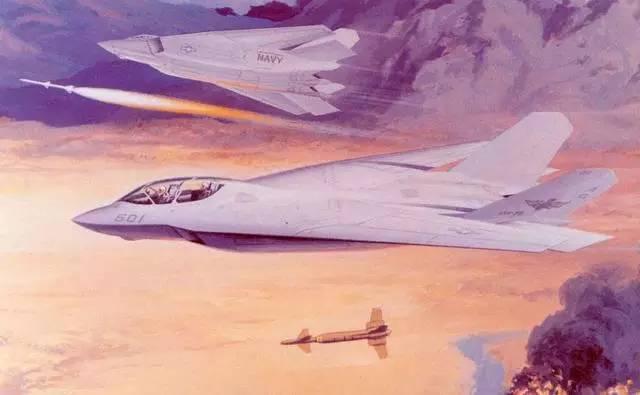 �9.��!깢�y�a��i���9f�x�_美国海军a/f-x四代机遗弃计划很像f-14的隐身版