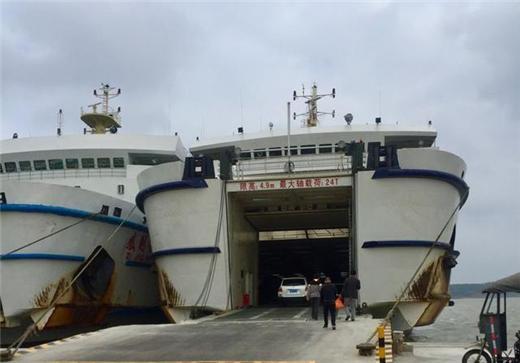 海安港是中国大陆最南端的港口,也是中国大陆最大的汽车轮渡港口,是