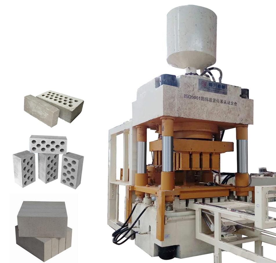 靜壓磚機作為的無振動磚機設備可以做什么磚