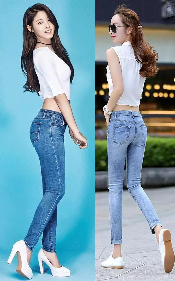 女生穿牛仔裤_女生进,穿牛仔裤紧而厚,你会考虑不穿内裤吗? 女生在穿着上比 ...