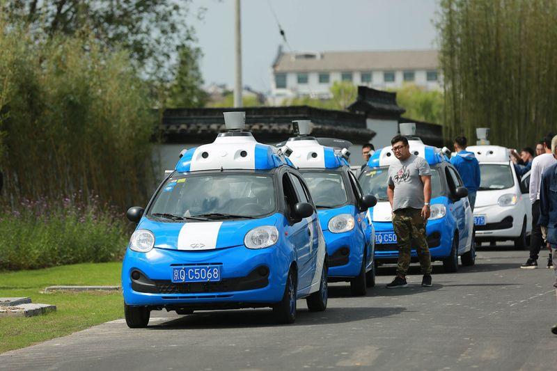 百度CEO李彦宏:将在时机成熟时剥离自动驾驶部门的照片