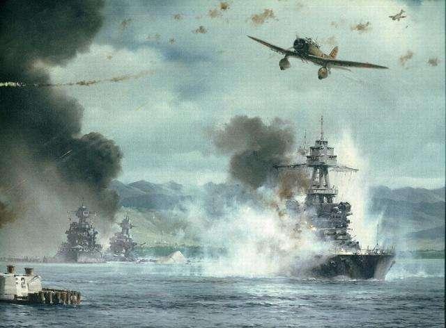 偷袭珍珠港美国损失_日本要偷袭珍珠港,美国总统罗斯福听后说了3个字