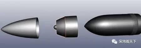 穿甲彈是如何穿甲的(動態圖)