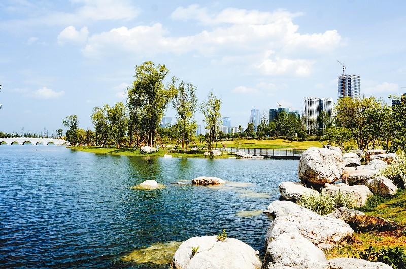 錦城湖公園,桂溪生態公園,是198區域的綠化示范帶,其起點之高,投入之圖片