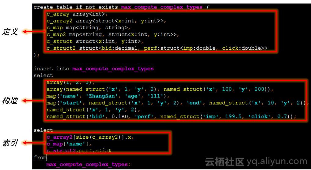 MaxCompute大数据语言的新发展
