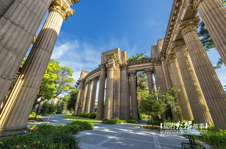 """三藩市天气_美国三藩市最美的景点之一""""旧金山艺术宫"""""""