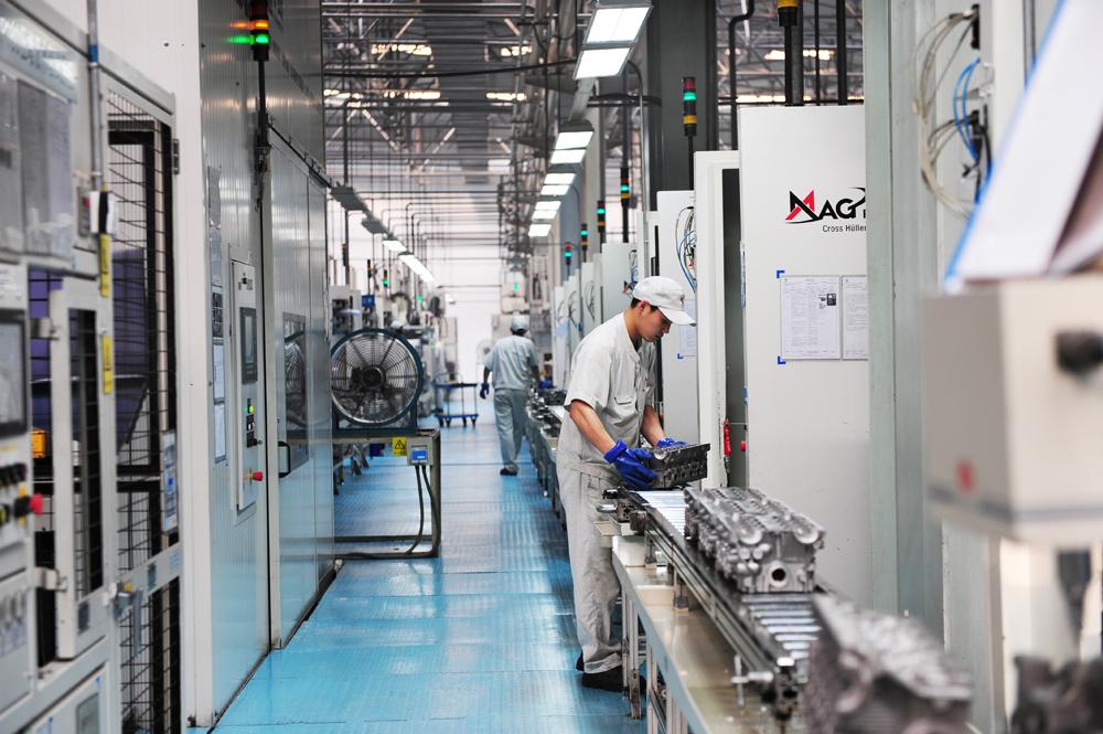 东安已成为汽车制造商青睐的发动机供应商