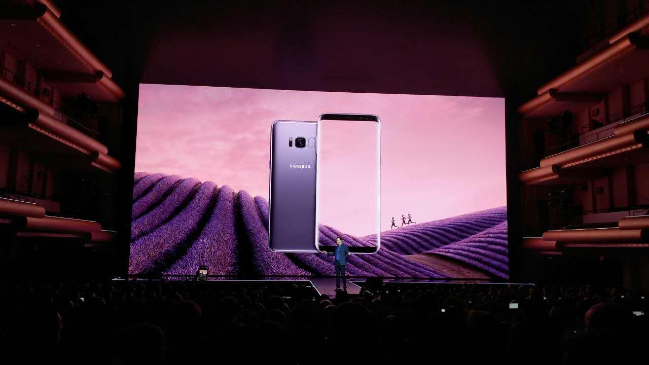 三星Galaxy S8正式发布 将于4月21日发售的照片 - 4