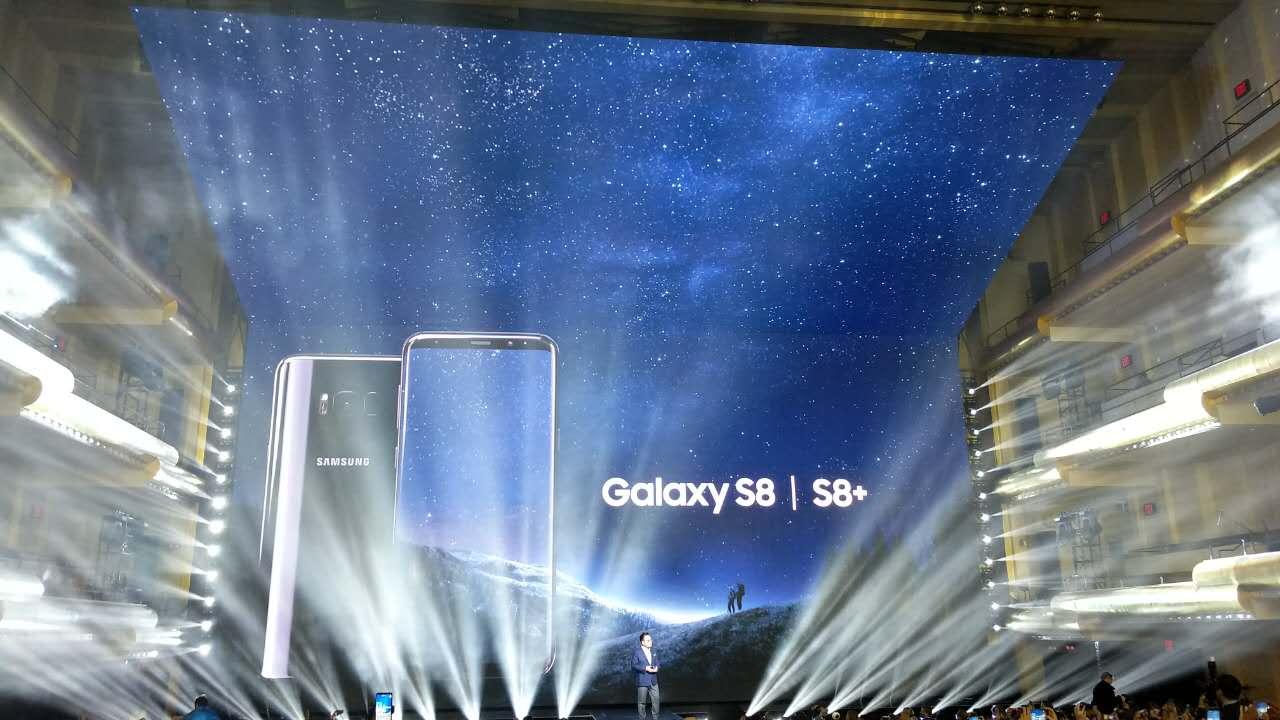 三星Galaxy S8正式发布 将于4月21日发售的照片 - 3
