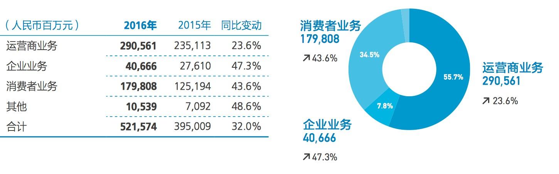华为2016年年报解读:终端业务增长迅速,利润成焦点的照片 - 2