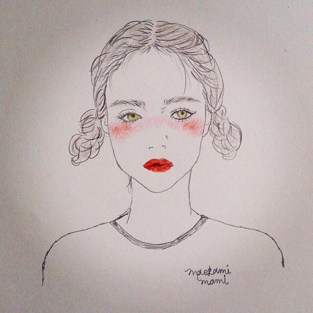 动漫卡通情色风行_不只可爱还要更性感!日本风行的「潮红妆」上妆教
