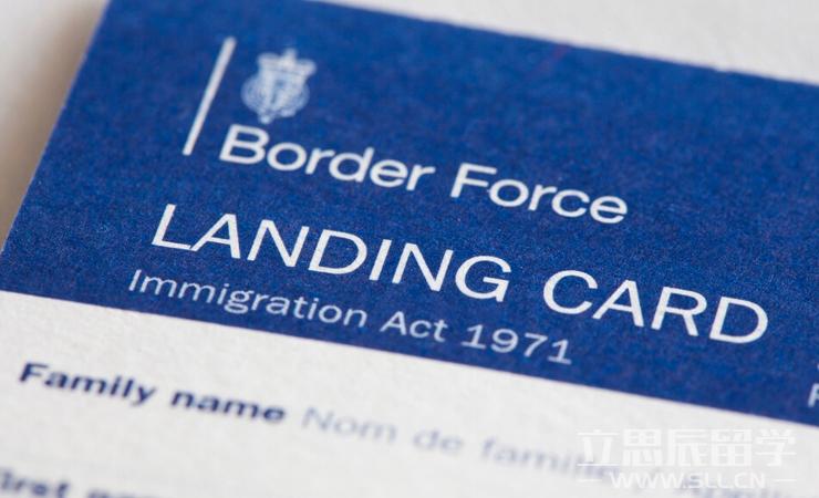 出国须知  如何填写英国入境卡