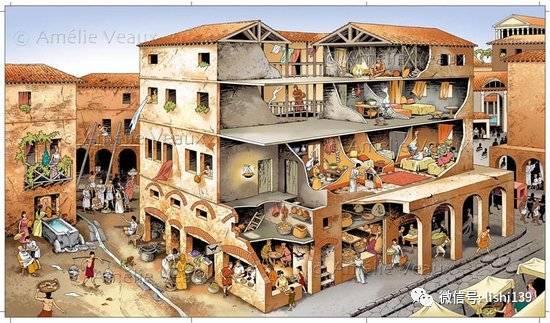 1,今天我們居住的城市建筑,其建筑學的源頭即來自于羅馬,從城市規劃圖片