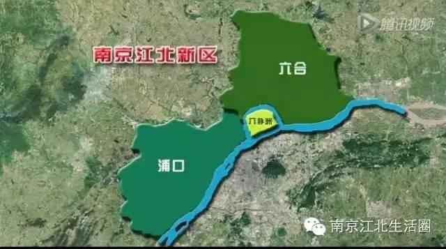 5年后江北新區可能是19個新區中唯一的圖片